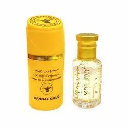 Yellow sandal gold fragance Perfume, Size: 10ml