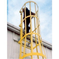 Safety Cage Ladder