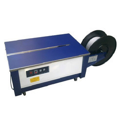 Low Height Semi Automatic Box Strapping Machine