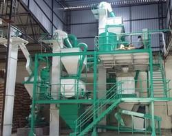 Horizontal Cattle Feed Mash Plant