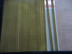 Pencil Gold Beading