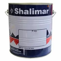 Emulsion Shalimar Epoxy Paint, Packaging Type: Tin