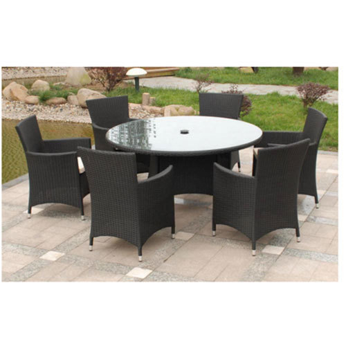 pretty nice 11462 7543c 6 Seater Round Dining Table