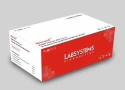 HIV 1 or 2 Biocard Rapid Test Kit