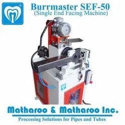 Matharoo Mild Steel Burrmaster SEF 50 Single End Facing and Chamfering Machine