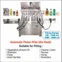 Automatic Hand Sanitizer Filling Machine (Six Head) / Piston Filler Six Head