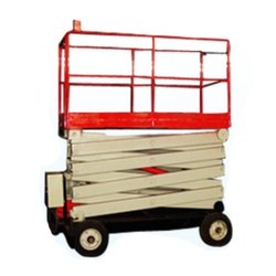 Manual Self Propelled Scissor Lift