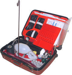 Hospitime Emergency Resuscitation Kit With Ventilator, Packaging Type: Box