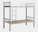 White Bunk Bed with Ply Base