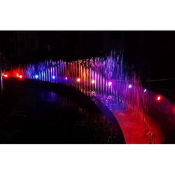 Sequential Lighting Fountain