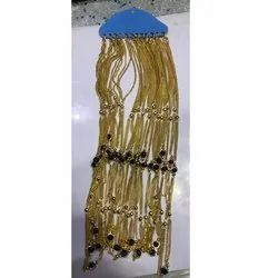 Party Wear Ladies Artificial Gold Plated Chain, Size: 18 Inches