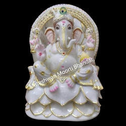 Lord Marble Ganesh Statue