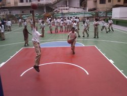 Polyurethane Basketball Court Flooring