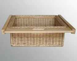 Brown WICKER BASKET, For Home