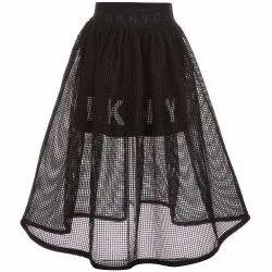 Ladies Designer Net Skirt