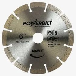 Powerbilt Granite Cutting Blade 6  Silverline