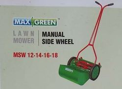 Manual Side Wheel Lawn Mover
