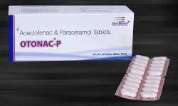 Aceclofenac 100 mg & Paracetamol 500 mg