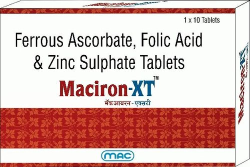 Maciron-XT- Iron Supplement Tablets