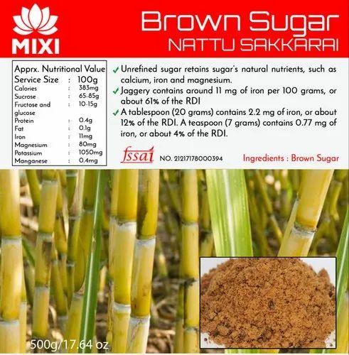 Brown Sugar ( Unrefined Cane Sugar)