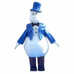 X Mas Inflatable Snowman