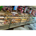 Toughened Glass Sweet Display Counter
