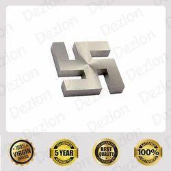 DEZLON Brass Swastik Mirror Cap