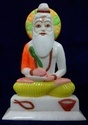 Marble Valmiki Colorful Statue
