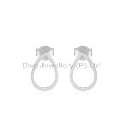 Wholesale 925 Fine Silver Stud Earrings Jewelry