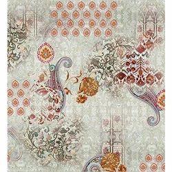 Nadar Prints Digital Print Floral Linen Ed Fabric