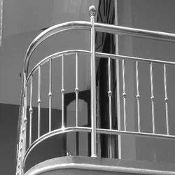 Silver Stainless Steel Stainless Steel Railings