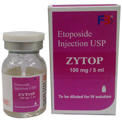 Etoposide Injection 100 Mg/5 Ml