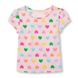 Girls Printed Top