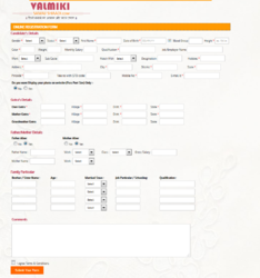 Online Marriage Form