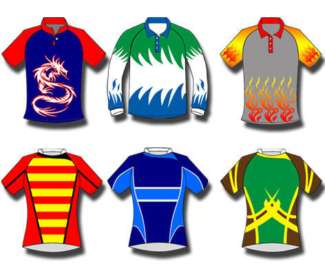 Multicolor Gag Rugby Jersey Shirt