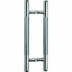 Stainless Steel Door Pull Handles, Polished