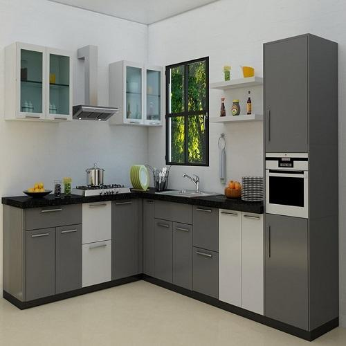Pvc Modular Kitchen Manufacturer From: Modern Multi Colour PVC Modular Kitchen Cabinate, Rs 30000
