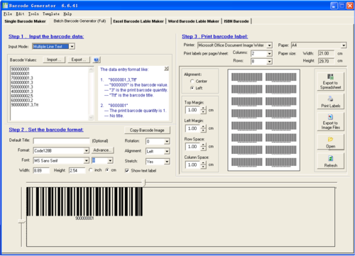 Billing & Barcode Software