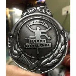 Fancy Die Marathon Medal