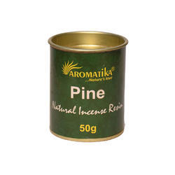 Resin Pine  Incense Resin 50 Gram Jar Pack