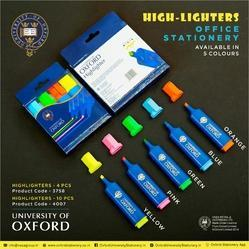 Highlighters - University Of Oxford Brand