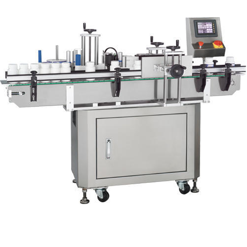 Stainless Steel Single Side Vertical Labeling Machine