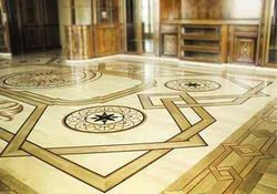 1000 Sq Ft Marble Inlay Flooring Service