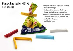 E196 - PLASTIC BAG SEALER