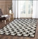 Rectangular Hand Made Hair On Leather Carpet At Best Price