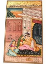 Painting Of Emperor - Emperors And Maid