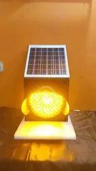 Yellow Light Solar Blinker