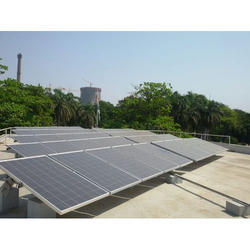 24 V Rooftop Solar Power Plant