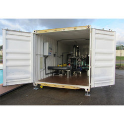 Container Water Treatment Plant