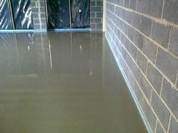 Blue, Green, Grey Floor Screeding Service India